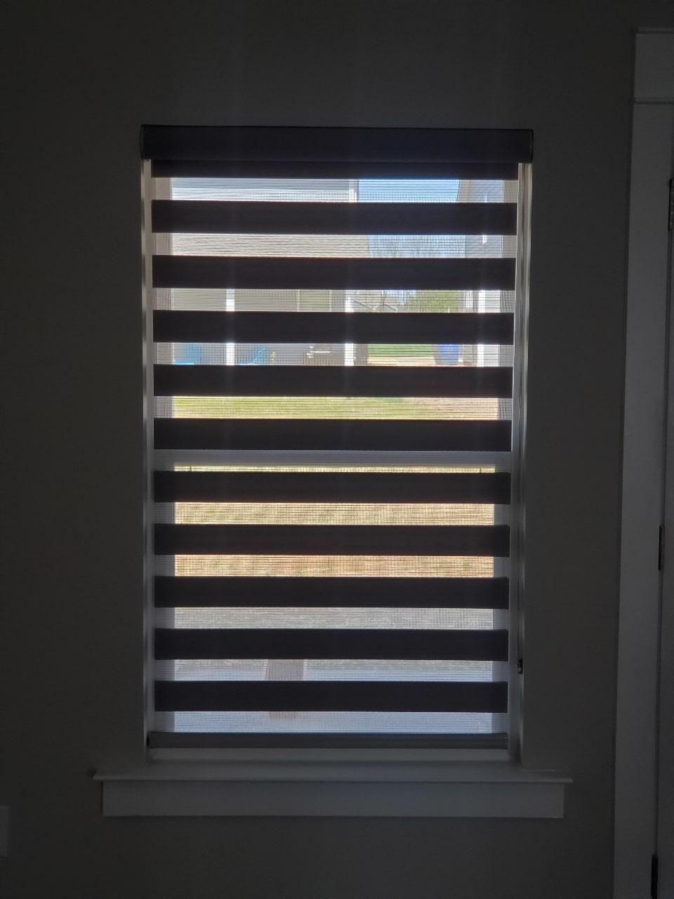 Layered Shade - Interior Window Plantation Shutters - Custom, Motorized Window Treatments, Blind Repair, Custom Blinds | Nashville, TN