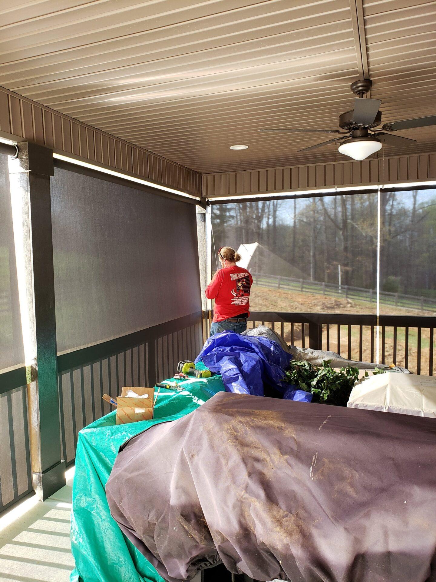 Color Patio Window Shades - Interior Window Plantation Shutters - Custom, Motorized Window Treatments, Blind Repair, Custom Blinds | Nashville, TN