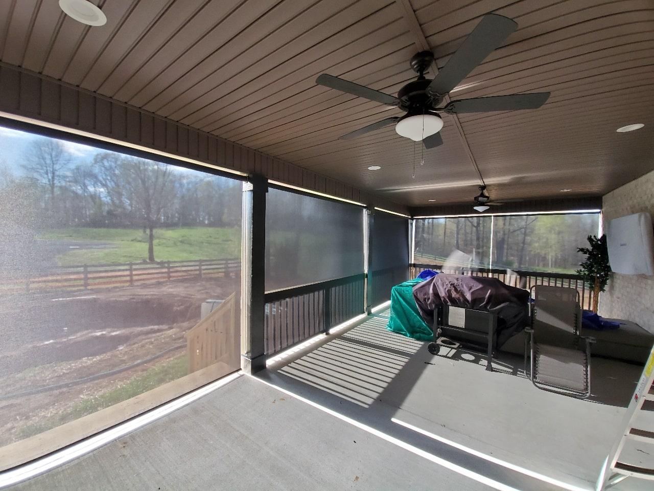 Window Shades from Patio - Interior Window Plantation Shutters - Custom, Motorized Window Treatments, Blind Repair, Custom Blinds | Nashville, TN