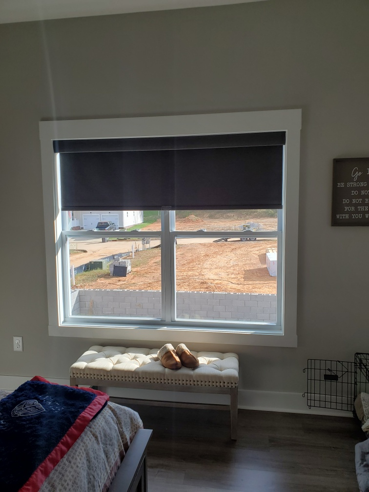Color Roller Shades - Interior Window Plantation Shutters - Custom, Motorized Window Treatments, Blind Repair, Custom Blinds | Nashville, TN