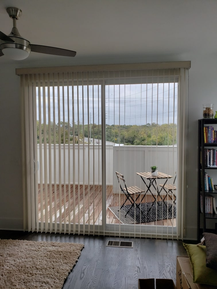 Window Vertical Shades - Interior Window Plantation Shutters - Custom, Motorized Window Treatments, Blind Repair, Custom Blinds | Nashville, TN